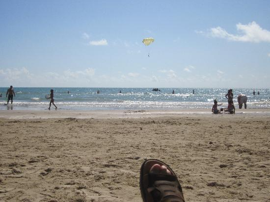Pearl South Padre: View from my rented beach chair...