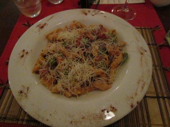 The Spaghetti Factory: Spaghetti boloriata