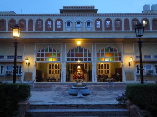 Naila Bagh Palace: by the evening