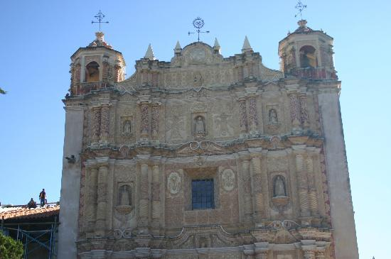 Hotel Jardines del Carmen: Temple St Domingo