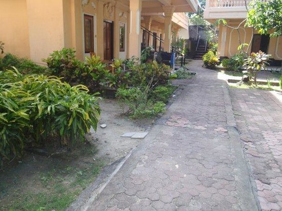 Troppo Zone Puri Rama Resort: basic area outside rooms