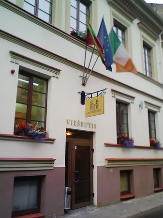 Hotel Tilto: outside of the hotel