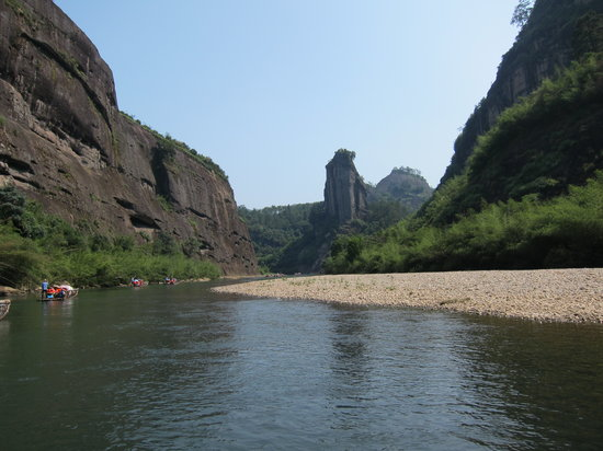 Jiuqu Stream in Wuyishan Mountain