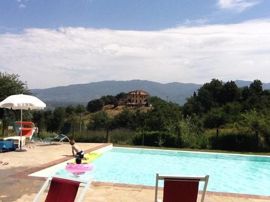 I Gelsi: idealic tuscan view