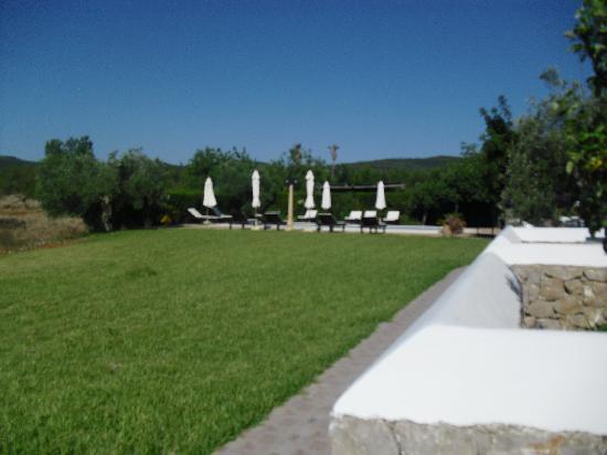 Sa Vinya D'En Palerm: vista del jardín