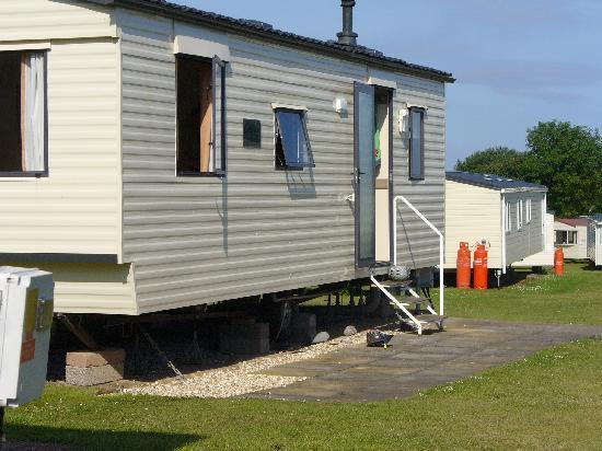 Doniford Bay Holiday Park - Haven: The caravans