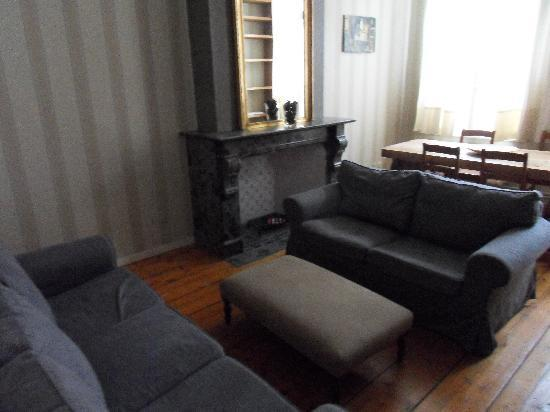 Ridderspoor Holiday Flats: The Lounge/dining room