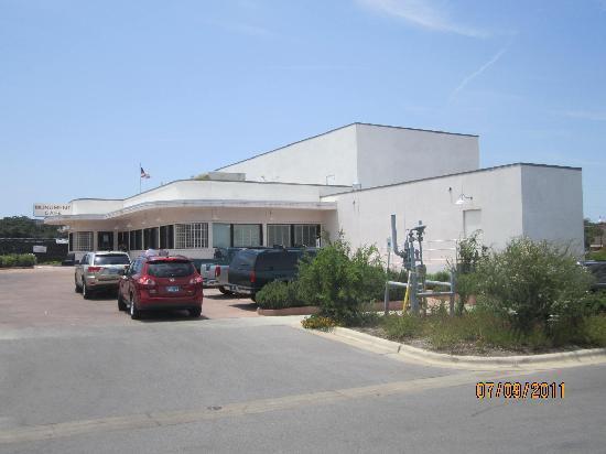 Georgetown, TX: Restaurant exterior