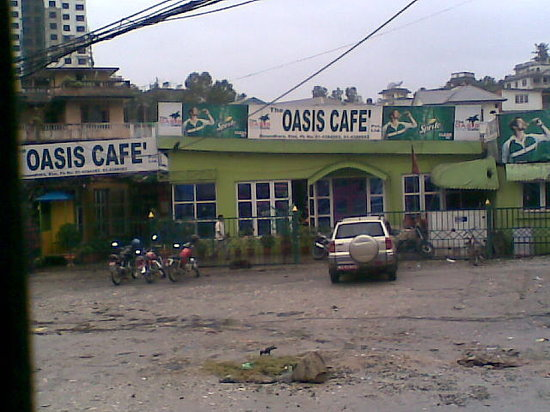 The Oasis Cafe: Oasis cafe exterior view