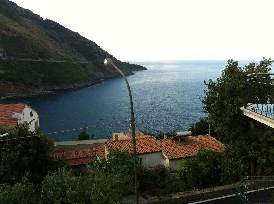 Acquafredda, Italien: View from Balcony