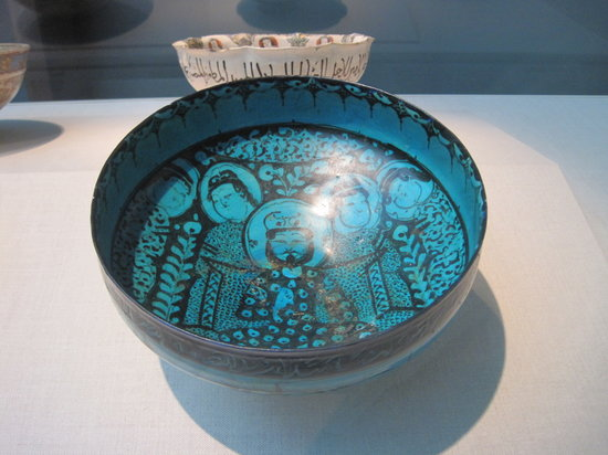 Smithsonian Institution Freer Gallery of Art and Arthur M. Sackler Gallery : Freer Gallery Islamic bowl
