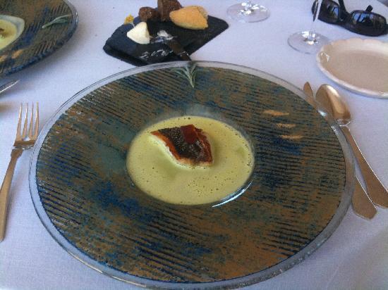 Restaurant Edouard Loubet** : dos de sandre
