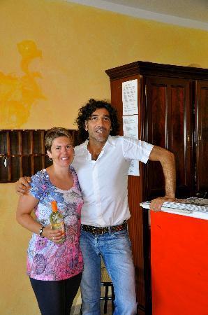 Hotel delle Rose: Oreste and Christina