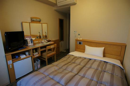 Hotel Route Inn Morioka Ekimae : シングルルーム