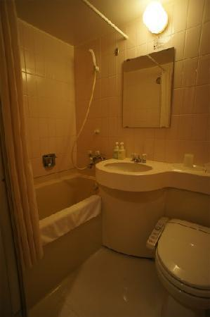 Hotel Bel Air Sendai: バスルーム