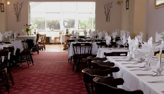 the stag and Pheasant inn: Our Restaurant