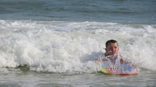 Gulf Shores, Αλαμπάμα: Gulf State Park Beach, June 27, 2011