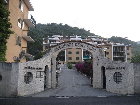Hotel Paco: Eingang zum Paco