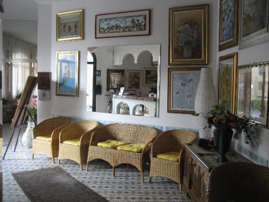 Hotel Paco: Die wunderschöne Eingangshalle
