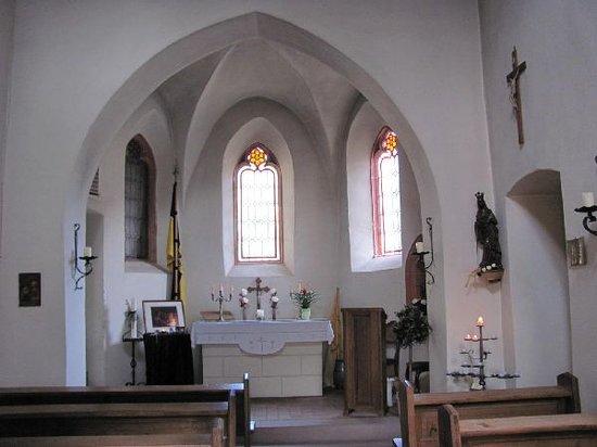 Katharinenkapelle: interior
