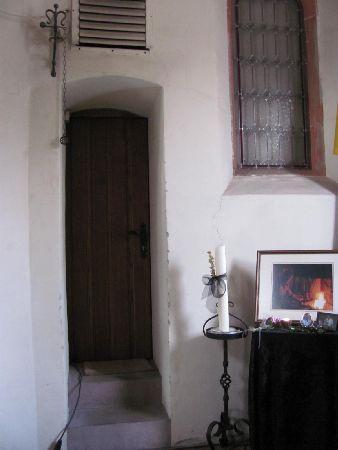 Katharinenkapelle: entrance to the sachristy