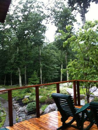Minnewaska Lodge: Balcony