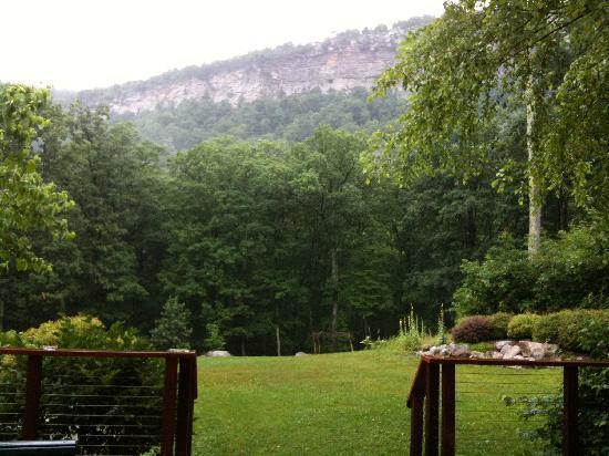 Minnewaska Lodge: View (rainy day)