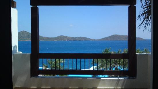 Aquila Elounda Village Hotel: View from our balcony