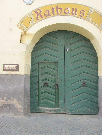 Former Town Hall (Alter Zollhof): old entrance