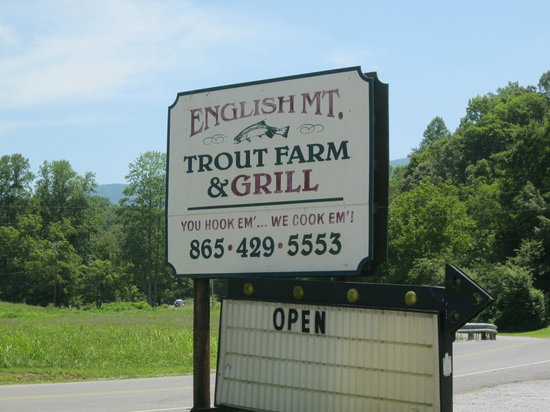 English Mountain Trout Farm Amp Grill Sevierville Menu