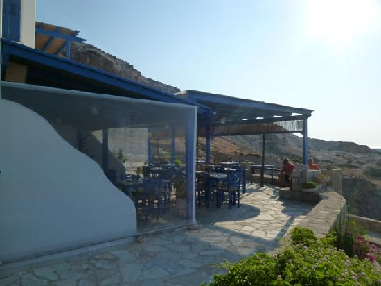 Psaravolada Resort: breakfast area with gorgeous view
