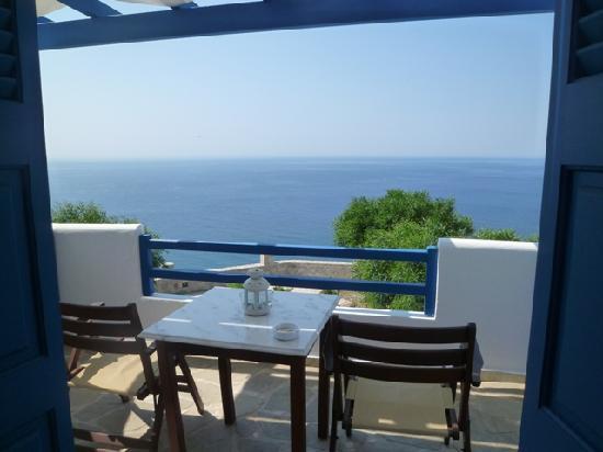 Psaravolada Resort: Our balcony