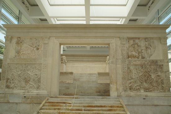 Museo dell'Ara Pacis: Front