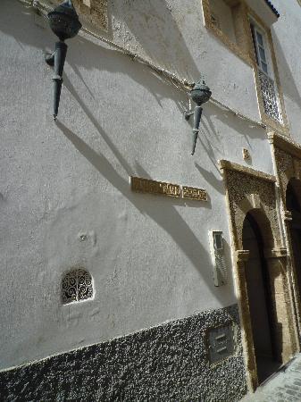 Riad Malaika : Porte entrée riad