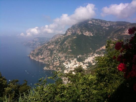 Villa la Quercia: view from our balcony