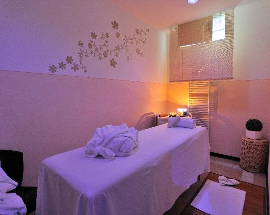 Perugia Plaza Hotel: Sala Massaggi
