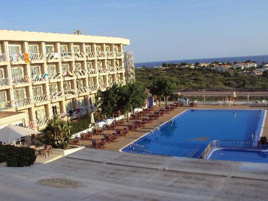 Hotel Club Sur Menorca: View From Room Balcony