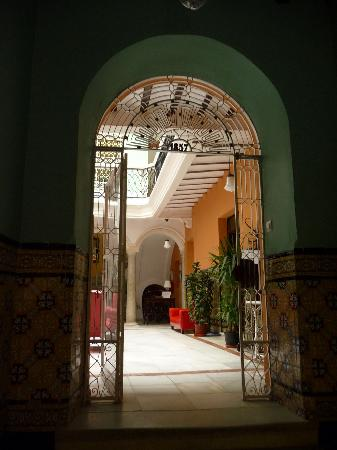 Pension Espana: entrée