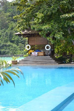 Bunga Raya Island Resort & Spa: Pic of the pool