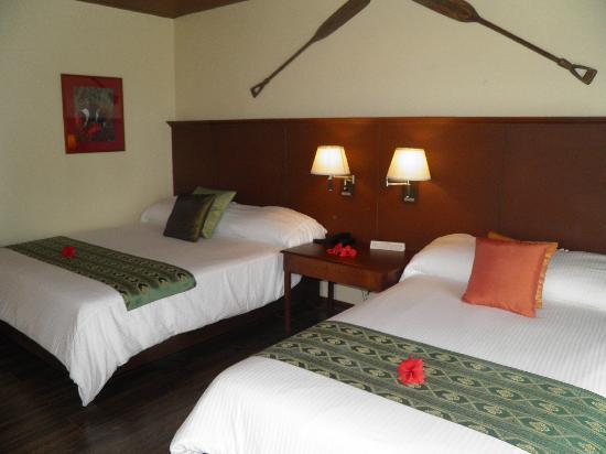 Dos Palmas Island Resort & Spa: Gemütliche Betten!!