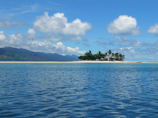Dos Palmas Island Resort & Spa: Insel nur zum Mittagessen!