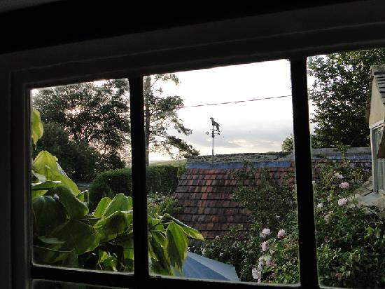 Yew Tree Cottage Bed and Breakfast: View from the bathroom window