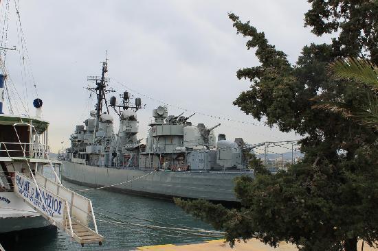 Private Greece Tours: USS Eldridge (now the Leon)