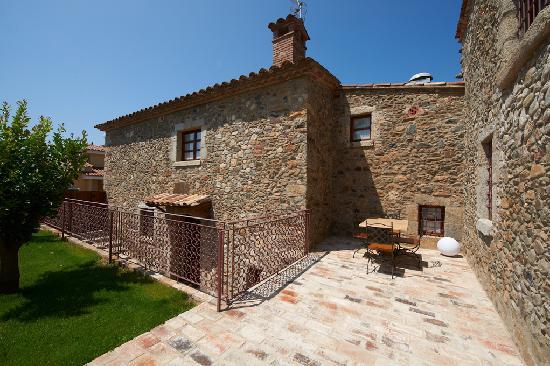 Hotel Mas 1670: Suite-Apartamento: Terraza