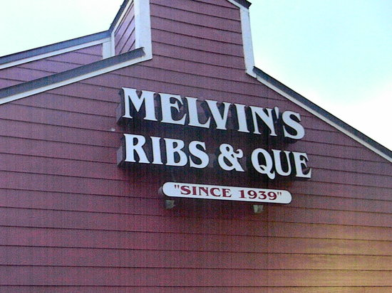 Melvin's BBQ: Melvin's