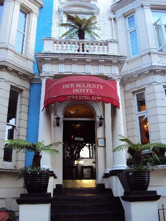 Her Majesty Hotel : ingresso