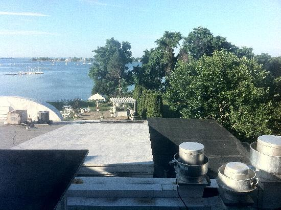 Westport, CT: View of kitchen vents