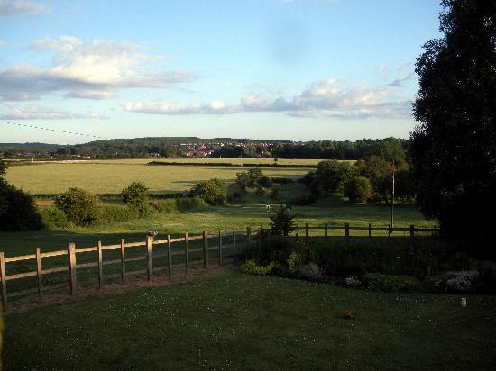 Mansfield, UK: view to the village