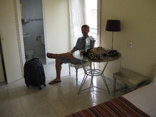Hotel Alexandra: Balcony 1