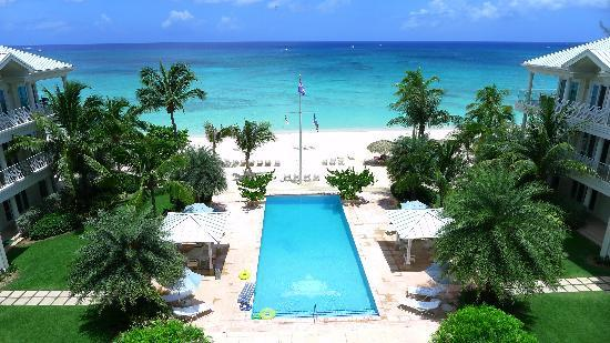 Caribbean Club Luxury Boutique Hotel : View from balcony of room 402